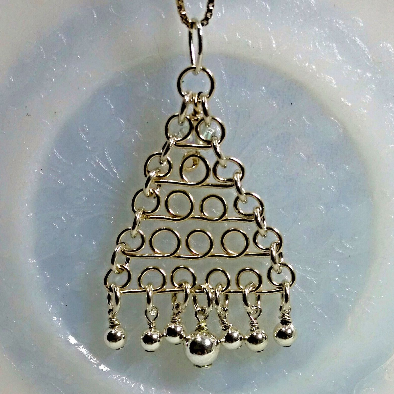 Handmade Wire Formed Christmas Tree in 14/20 Gold Filled Wire and ...
